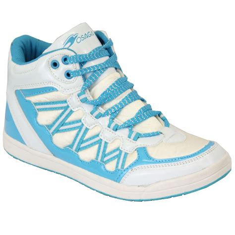 womens high top athletic shoes trainers womens high top osaga shoes lace