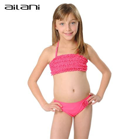 kids swimwear girls aliexpress children bikini 2016 kids girls small dots swim suits with