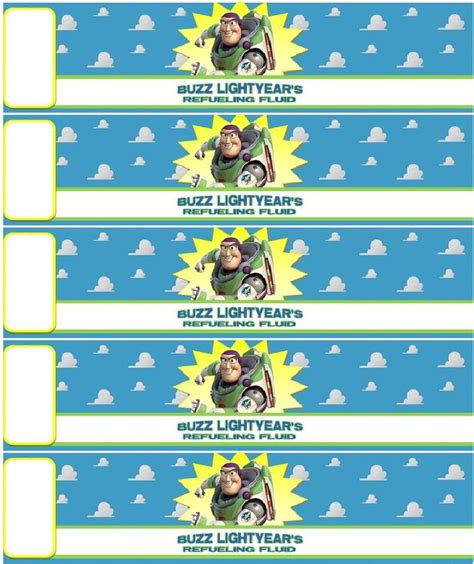 Toy Story Printable Party Decorations | buzz lightyear s refueling fluid great for your toy story