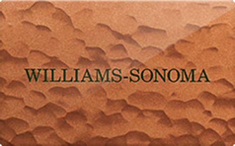 Williams Sonoma Gift Card Discount - williams sonoma gift card discount 7 00 off
