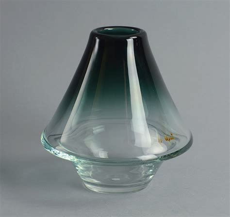 A1631 Brown freeforms other swedish glass artists