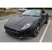 F Type By Jaguar  Wrapped In Matte Black Reforma UK