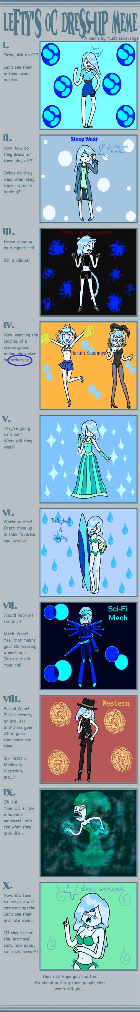 Meme Dress Up - dress up meme by askaquaprincess at on deviantart