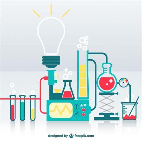 Design Lab Free | science lab vector free download