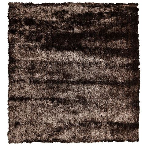 so silky rug home decorators collection so silky chocolate 3 ft x 3 ft square area rug silky3x3ch the