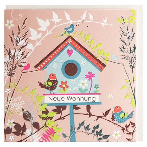 Gl 252 Ckwunschkarte Zum Einzug Neue Wohnung Vogelhaus