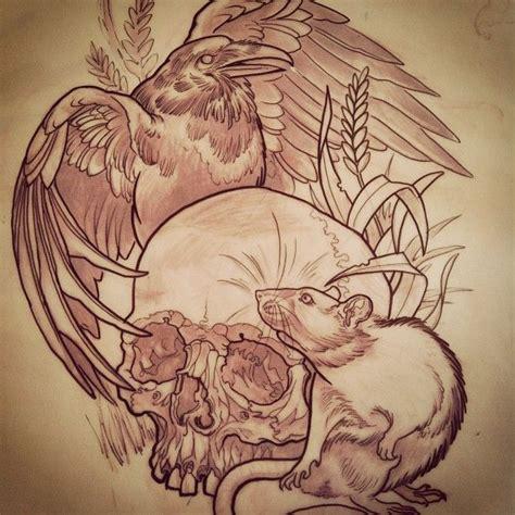 cartoon tattoo melbourne 27 best rat tattoo images on pinterest rat tattoo rats