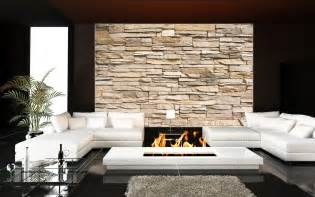steinwand wohnzimmer kleben steinmauer wanddekoration wohnzimmer steinwand beige