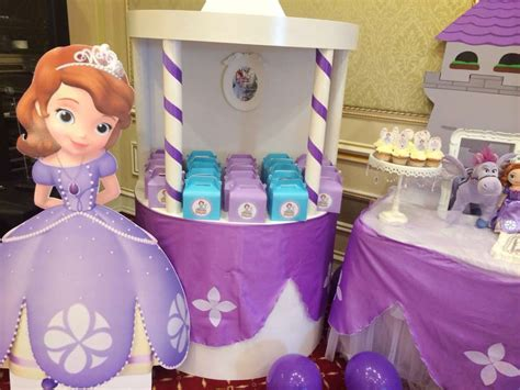 Princess Sofia Decorations by Princess Sofia Birthday Ideas Photo 8 Of 36