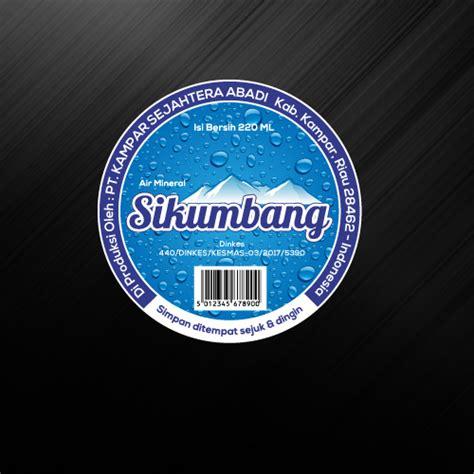 desain kemasan air minum gallery desain label untuk air minum kemasan gelas quot sikum