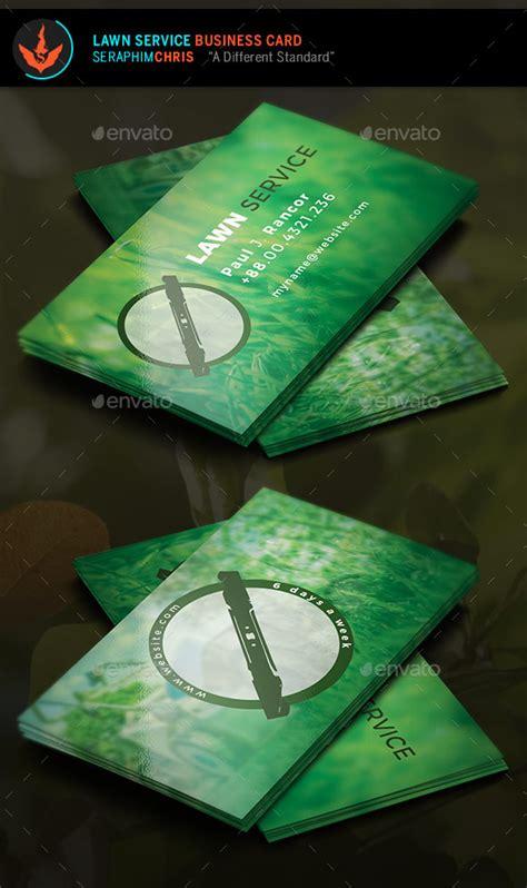 graphicriver lawn service business card template lawn service business card template by seraphimchris