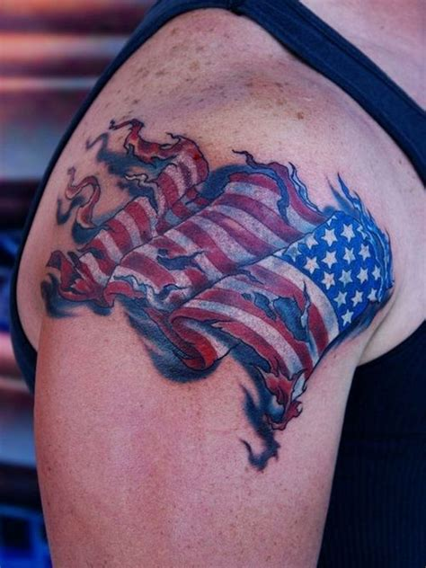 us flag tattoos 50 independent patriotic american flag tattoos i usa