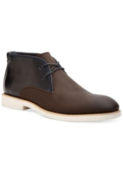 calvin klein shoes calvin klein calvin klein chester chukka boots s