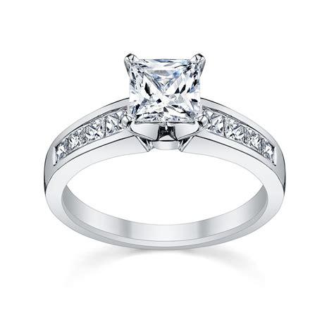 princess cut engagement rings shell love robbins