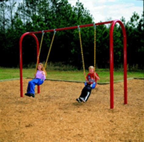 pipe swing set commercial swing sets park school playground equipment