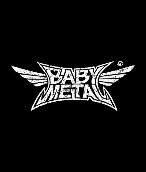 Tshirt Metal Logo babymetal logo t shirt band tees for unisex
