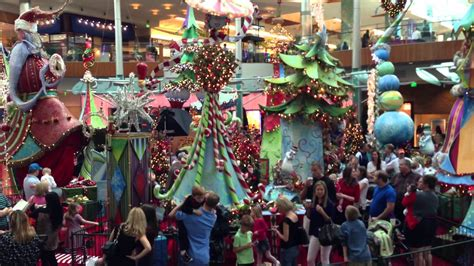 christmas decor mall at millenia orlando youtube