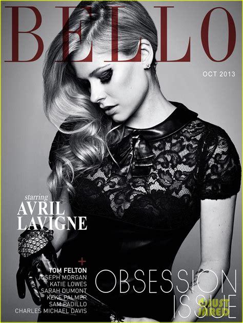 Avril Lavigne Does Day Magazine by Avril Lavigne Covers Bello Magazine October 2013 Photo
