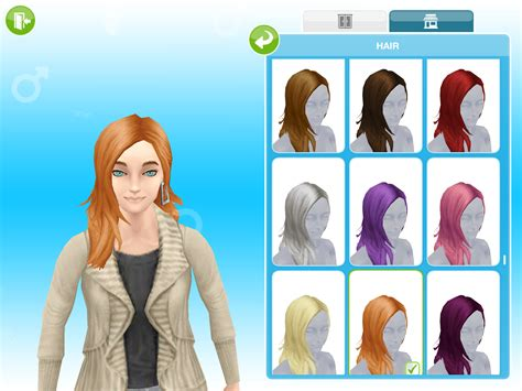 Missy's Sims and Stuff: The Sims Freeplay ~ Boutique Hair