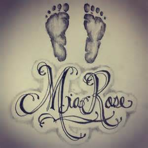 sketchbook names 18 baby name tattoos