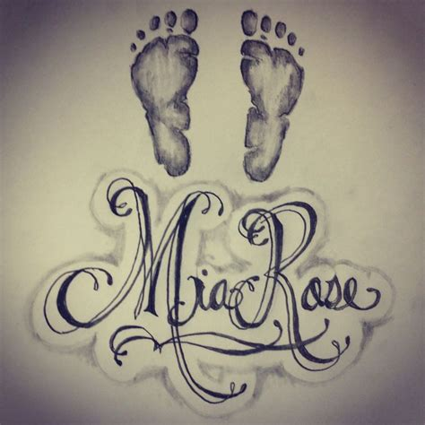 tattoo designs of baby names 18 baby name tattoos