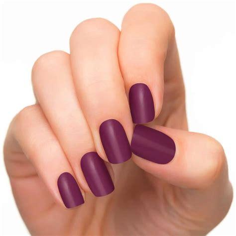 Ongle En Gel Violet by Ongles Couleur Mauve