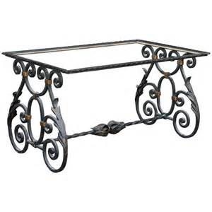 Wrought Iron Coffee Table Bases Wrought Iron Table Base For Sale At 1stdibs