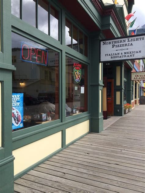 northern lights pizza near me northern lights pizzeria pizza 367 371 3rd skagway