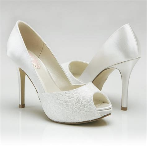 high heels wedding weddings accessory wedding shoes 3 75 quot high heel peep
