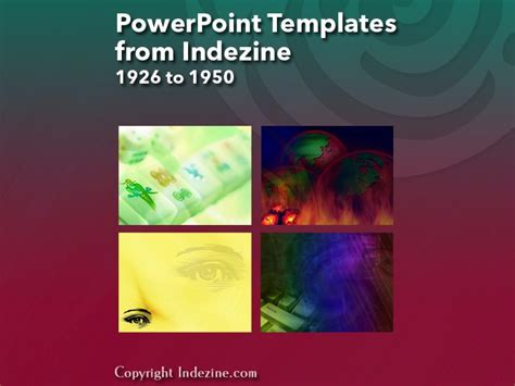 powerpoint templates from indezine 078 designs 1926 to