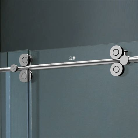 Frameless Shower Door Hardware Supplies Vigo 60 Inch Frameless Tub Door 3 8 Quot Clear Chrome Hardware Product