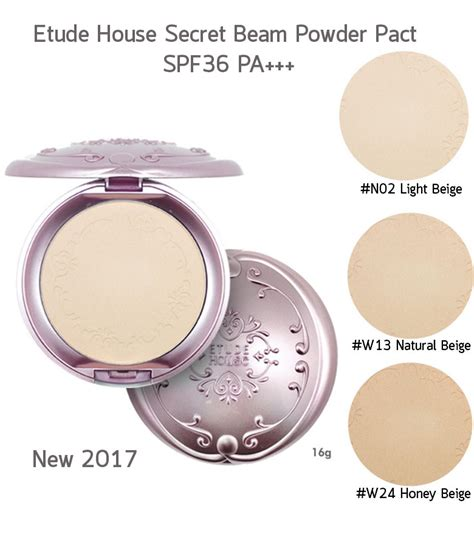 Secret Beam Powder Pact Spf 36 Pa etude house secret beam powder pact spf36 pa ราคา ถ ก