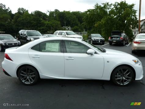 white lexus is 250 2014 ultra white 2014 lexus is 250 f sport awd exterior photo