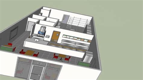How To Design A Small Kitchen Layout Typical Sandwich Or Beverage Shop Design Youtube