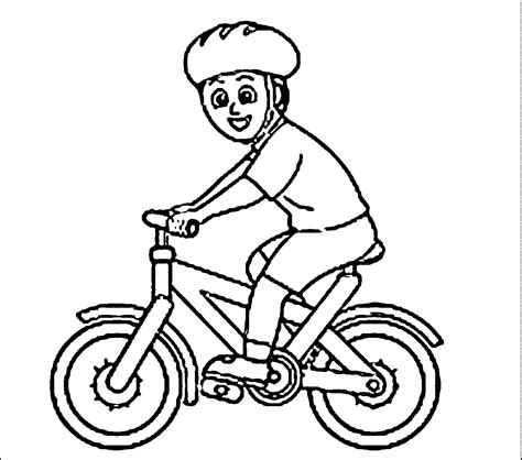 bicycle coloring pages preschool bike coloring pages printable coloring image