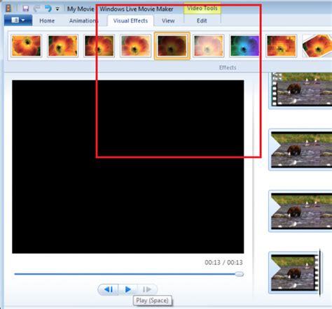 windows live movie maker tutorial transitions windows live movie maker transitions versus effects