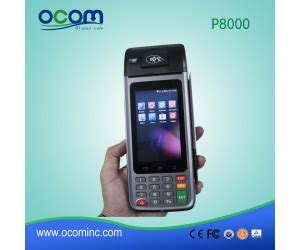 android pos mobile touch screen wireless android pos terminal price with sim card gprs p8000