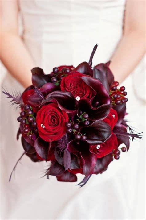 wine colored flowers wine colored bridal bouquets bouquet wedding flower