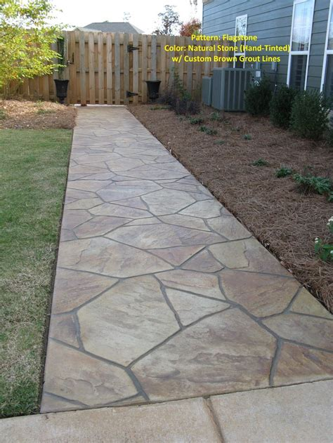 flagstone colors multi color flagstone walkway stitcrete llc