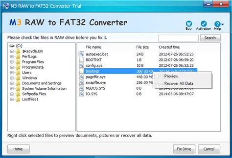 format hard disk raw m3 raw to fat32 converter download