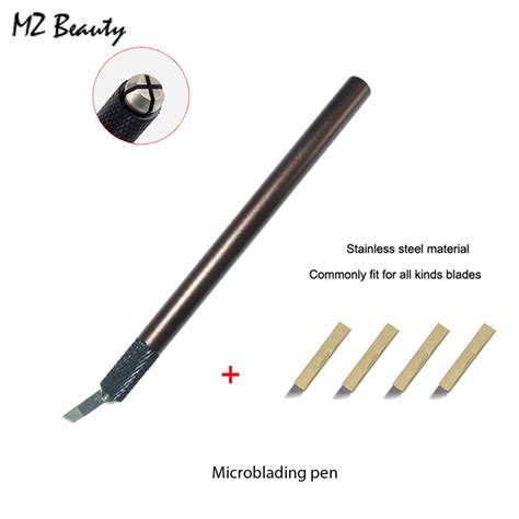 manual tattoo pen permanent makeup microblading pen permanent manual eyebrow makeup tattoo