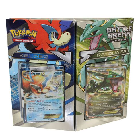 Tcg Trading Card Battle Arena Decks Rayquaza Vs Keldeo Xy Battle Arena Decks Rayquaza Vs Keldeo Two