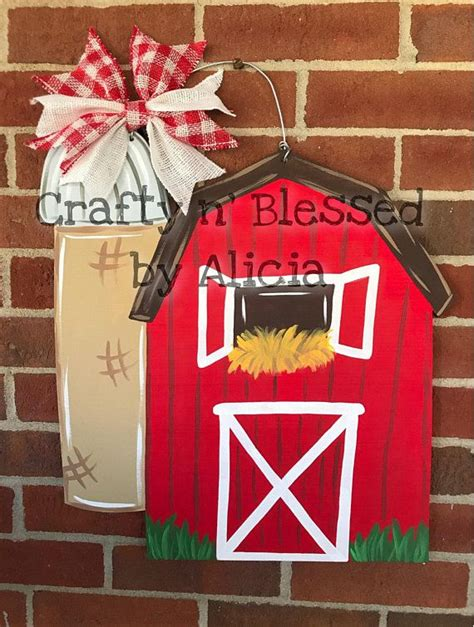 barn wooden sign   super cute addition