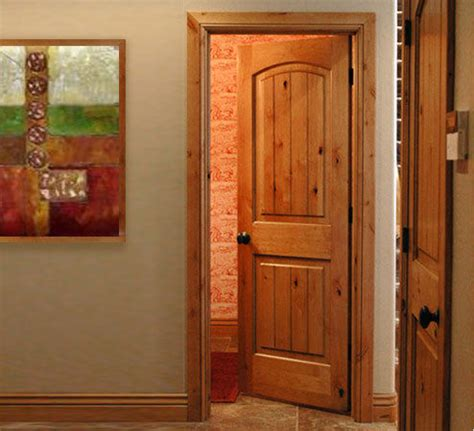 Interior Colors For Craftsman Style Homes Pre Hung Knotty Alder Interior Doors Arch Top Raised