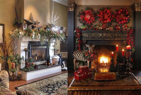 christmas mantel decor inspiration 30 stunning christmas mantel decorating ideas feed
