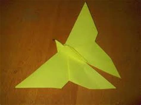 Flapping Butterfly Origami - origami de mathef 228 scht