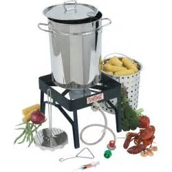 gas turkey fryer burner bayou classic 32 qt stainless steel turkey fryer kit with