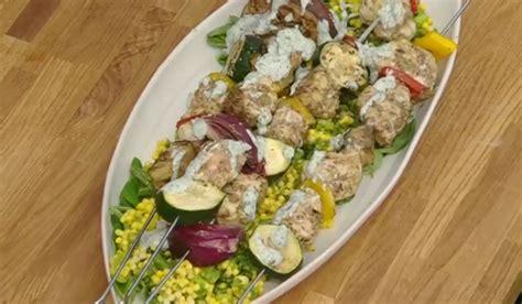 Kitchen Garden Live Recipes The Bikers Monkfish Kebabs Recipe On Kitchen Garden