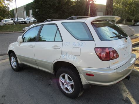 2000 Lexus Rx300 Engine by 2000 Lexus Rx300 Pearl White 3 0l At 4wd Z15045 Rancho