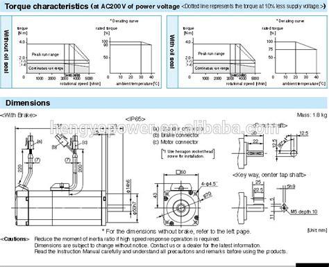 Panasonic Servo A6 400w 1 Set surprising panasonic servo motor wiring diagram ideas